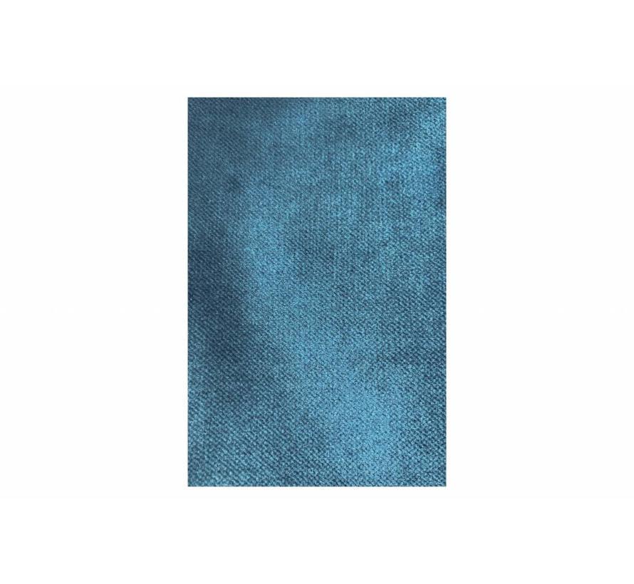 Rodeo Hocker Op Poten Velvet Blue