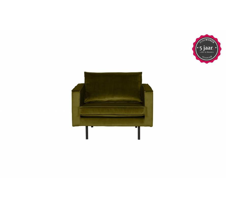 Rodeo Fauteuil Velvet Olive