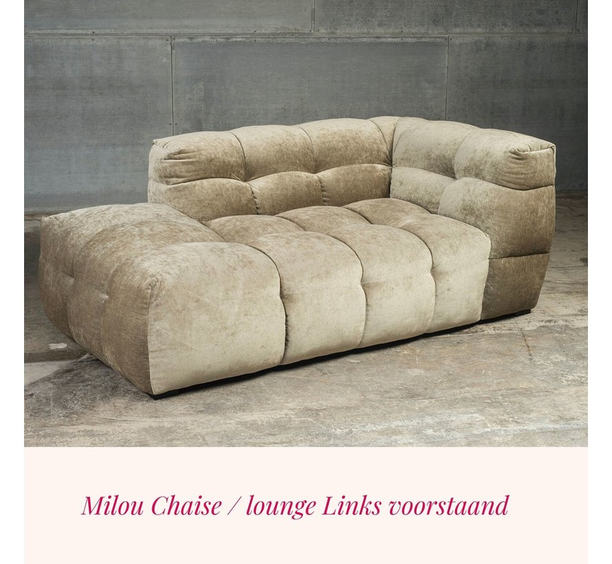 Lounge deel / chaise Milou Adore