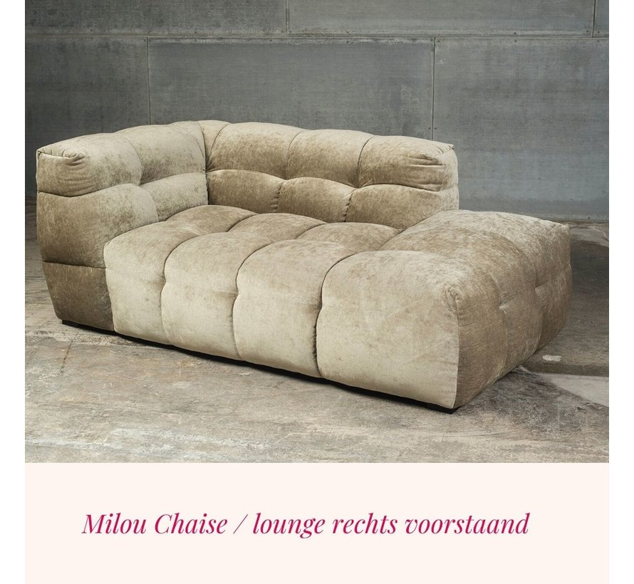 Lounge deel / chaise Milou Riviera