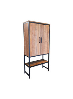 Livingfurn CAB - Montreal 2drs Shelf 100cm