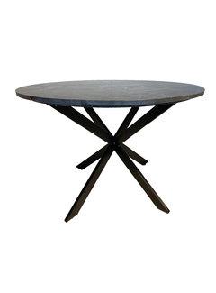 Livingfurn DT - Jacky Marble Black 120 cm