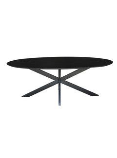 Livingfurn DT - Oslo Black Oval 210 cm