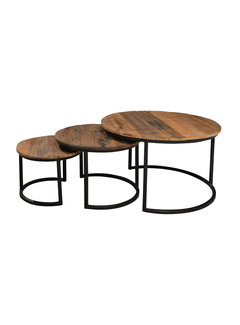 Livingfurn CT - Dakota Jerrel Set of 3