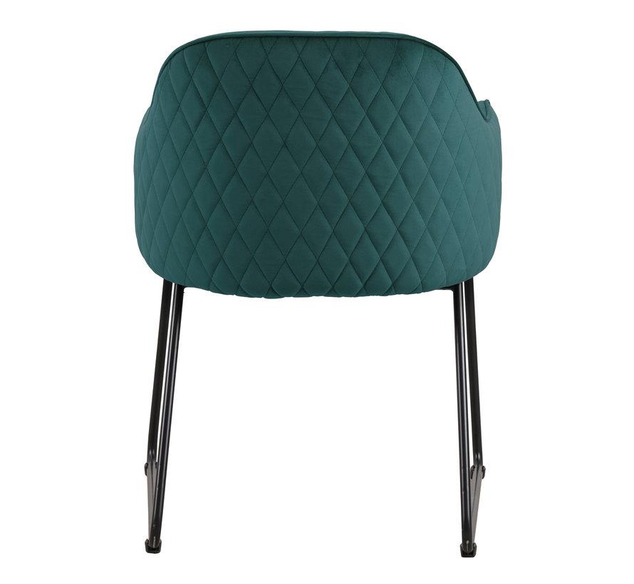 Chair - Benthe Green Velvet