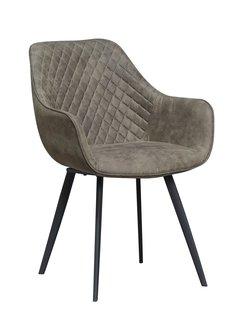 Livingfurn Chair - Luca Olive