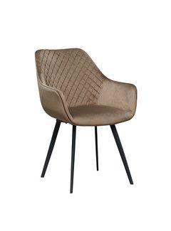 Livingfurn Chair - Luca Mocca Velvet