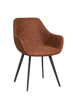 Livingfurn Chair - Luca Cognac