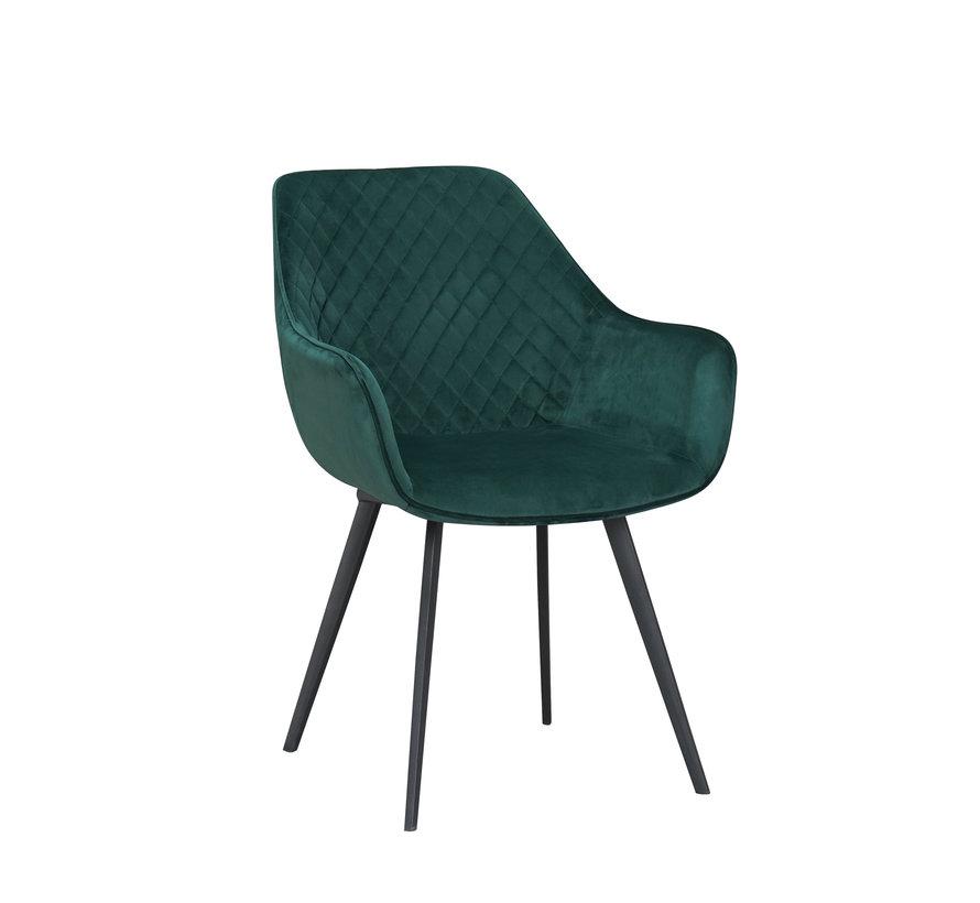 Chair - Luca Green Velvet