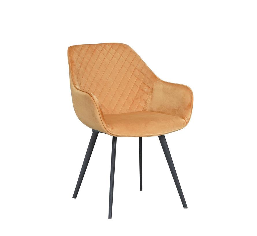 Chair - Luca Oker Velvet
