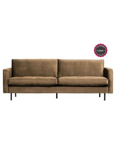 BePureHome Rodeo Classic Bank 2,5-zits Velvet Taupe
