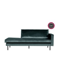 BePureHome Rodeo Daybed Right Velvet Teal