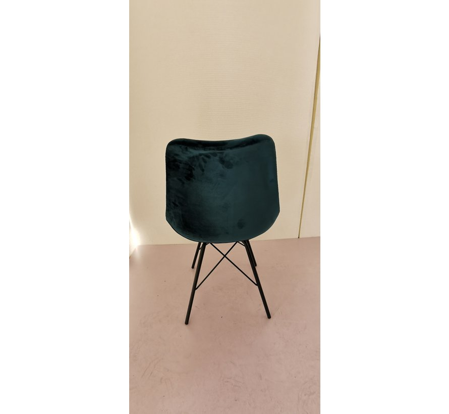 Chair - Luna Velvet Grey