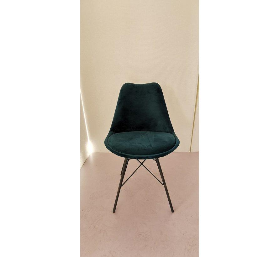Chair - Luna Velvet Green