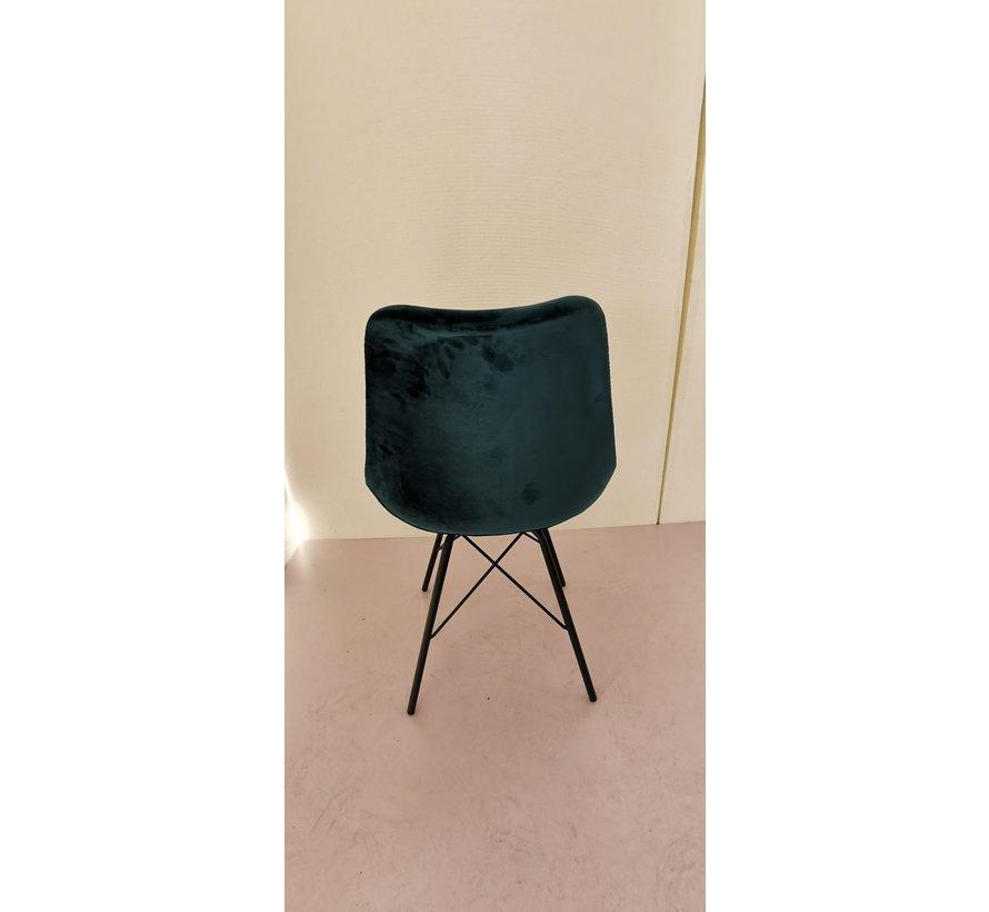 Chair - Luna Velvet Oker