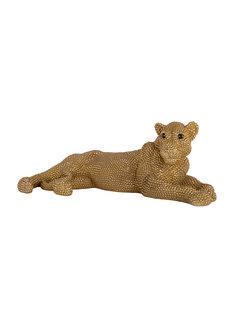 Richmond Interiors Lion deco object (Goud)