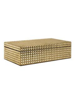 Richmond Interiors Juwelen box Blaze goud (Goud)