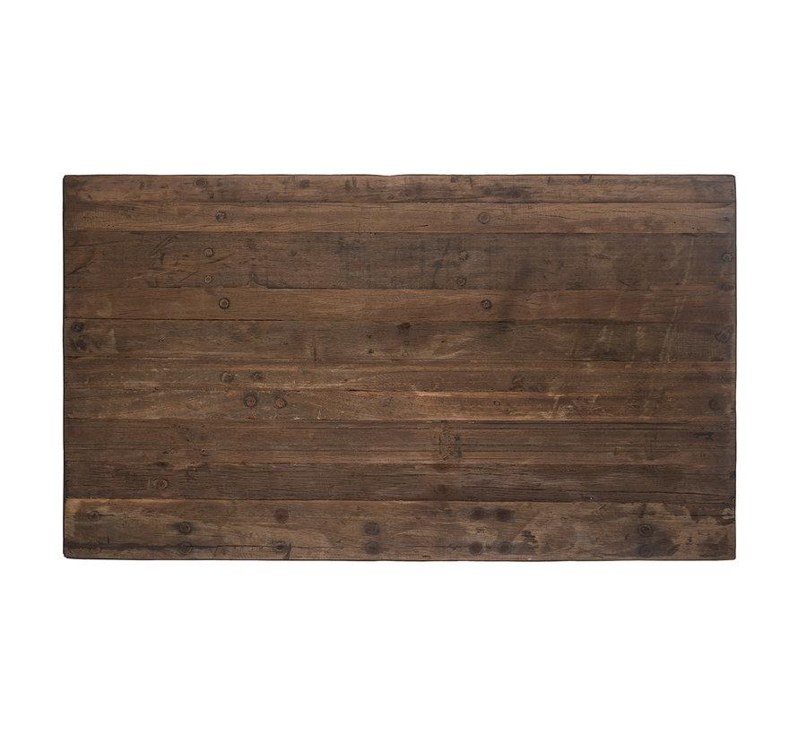 Bartafel Raffles 140x80, gerecyceld hout