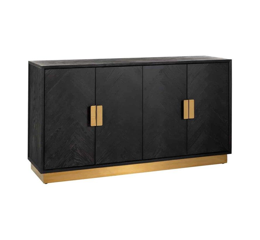 Dressoir Blackbone gold 4-deuren (Goud)