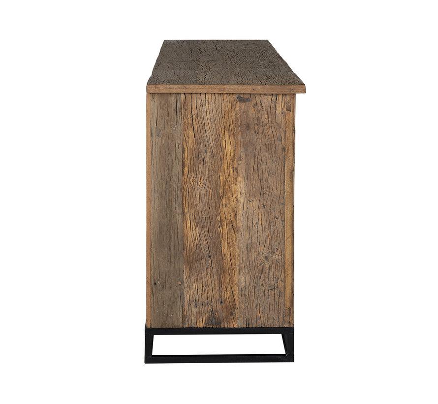 Dressoir Raffles 4-deuren, gerecyceld hout
