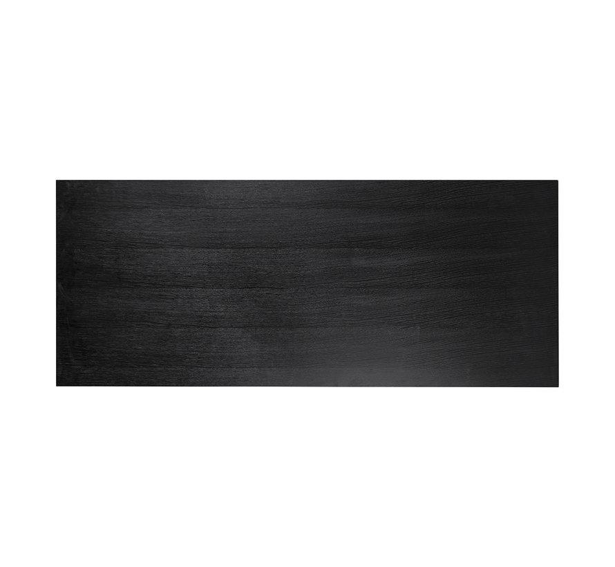 Eettafel TOP ( los blad ) Oakura 230x95 (Zwart)