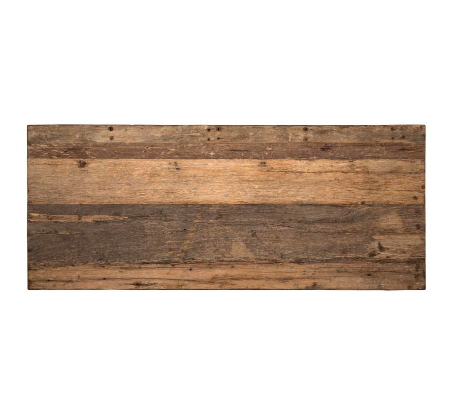 Eettafel Raffles 200, gerecyceld hout