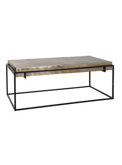 Richmond Interiors Salontafel Calloway champagne gold (Champagne gold)