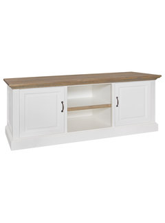 Richmond Interiors TV-dressoir Oakdale 2-deuren + open vak