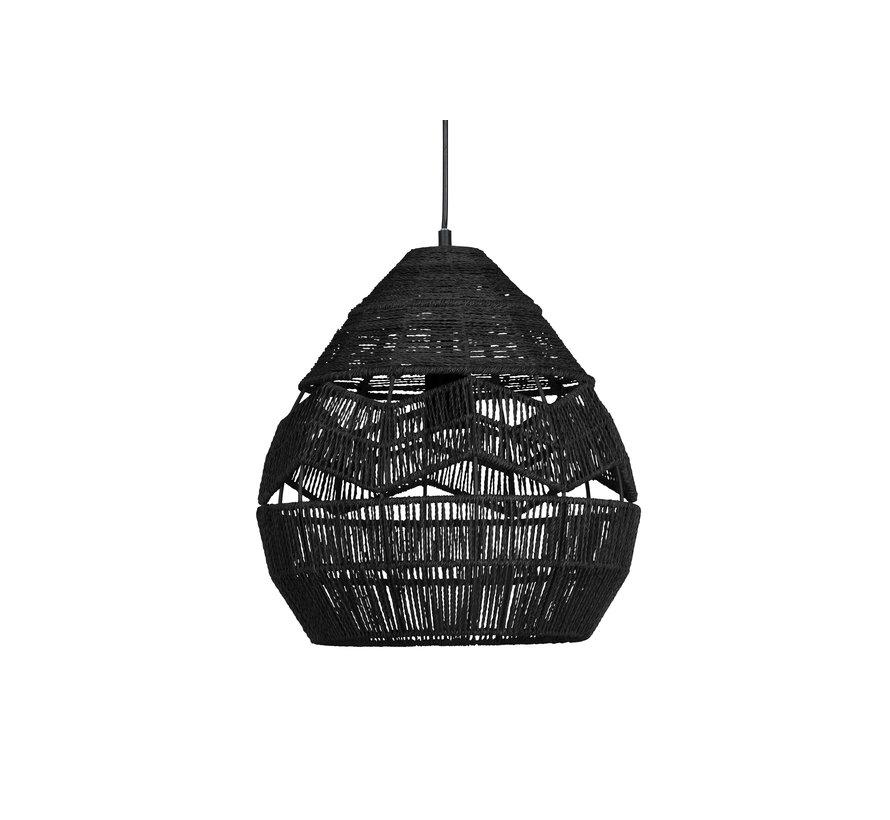Adelaide Hanglamp Zwart Ø35cm