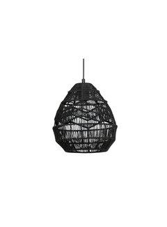 WOOOD Adelaide Hanglamp Zwart Ø25cm