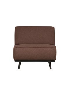 BePureHome Statement Fauteuil BouclÉ Coffee