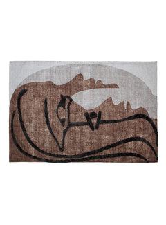 WOOOD Roden Wand/vloerkleed Multi 170x240cm