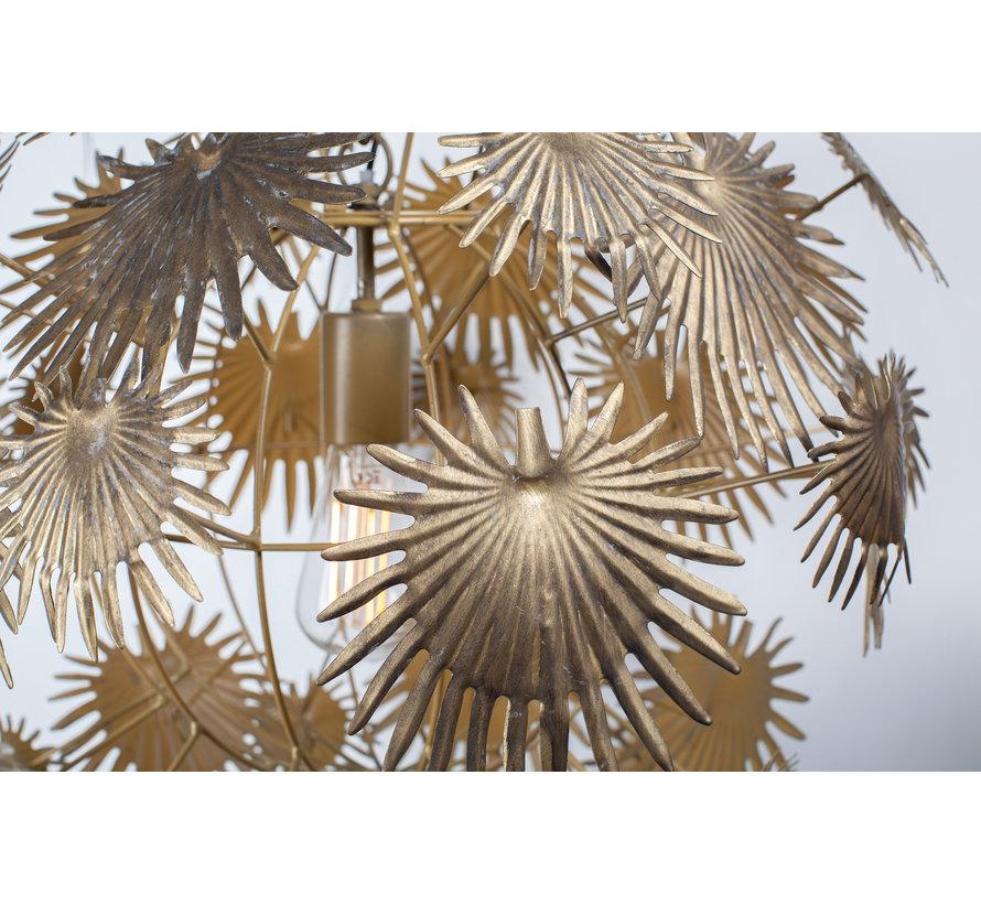 Atom Hanglamp Metaal Antique Brass
