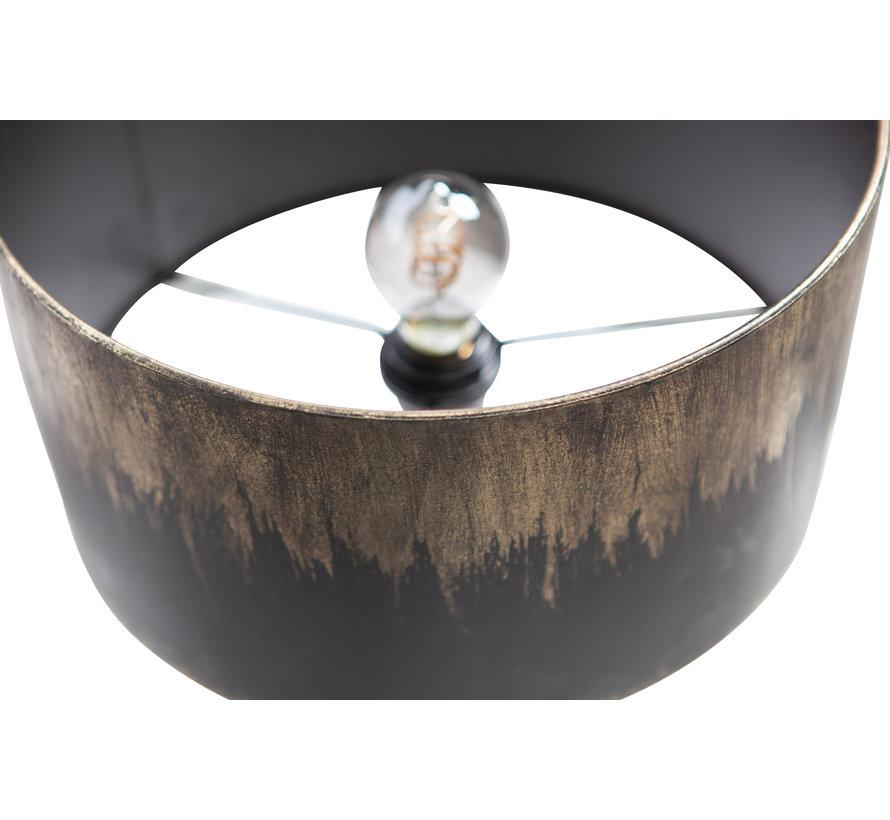Blackout Tafellamp Metaal Zwart