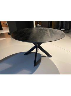 Livingfurn DT - Oslo Black Round Acasia 130 cm