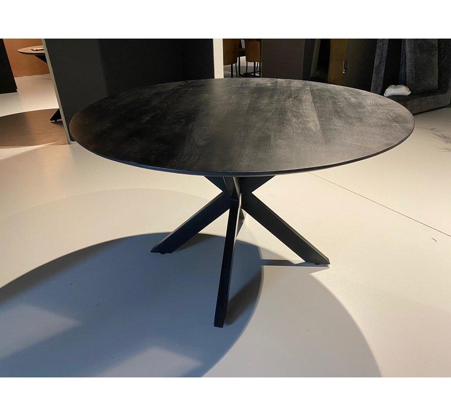 DT - Oslo Black Round Acasia 130 cm