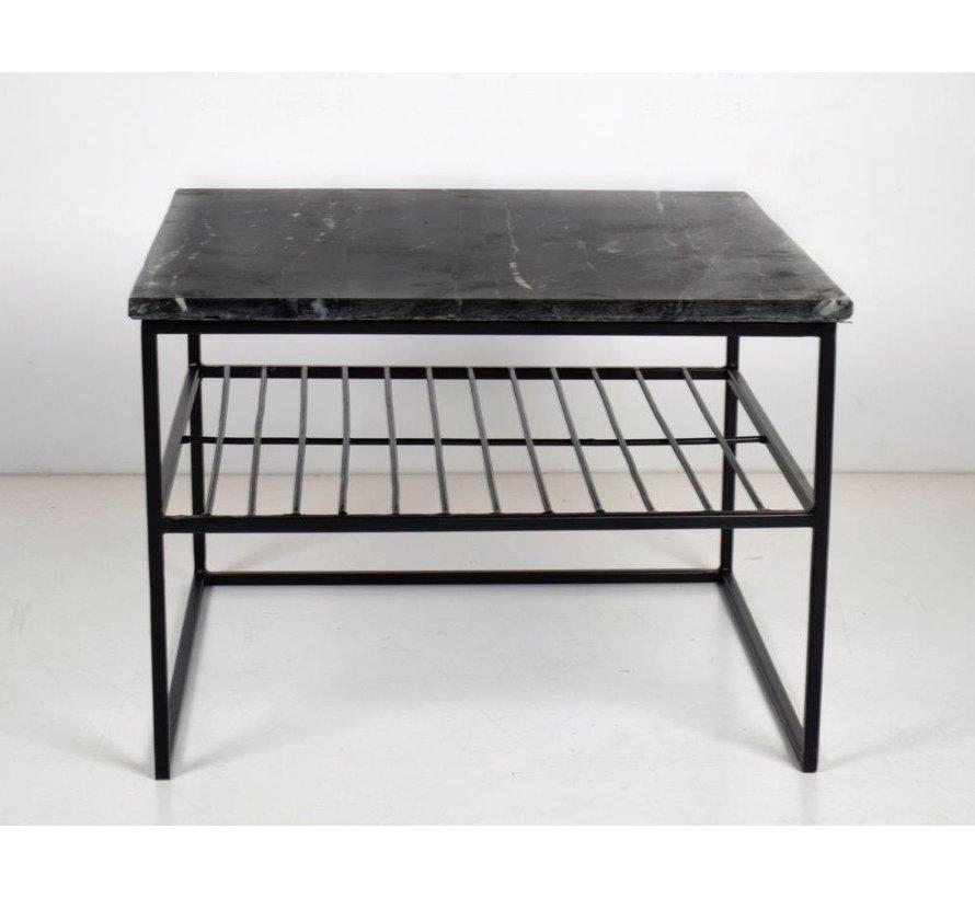 CT - Square Marble Black Black 55cm