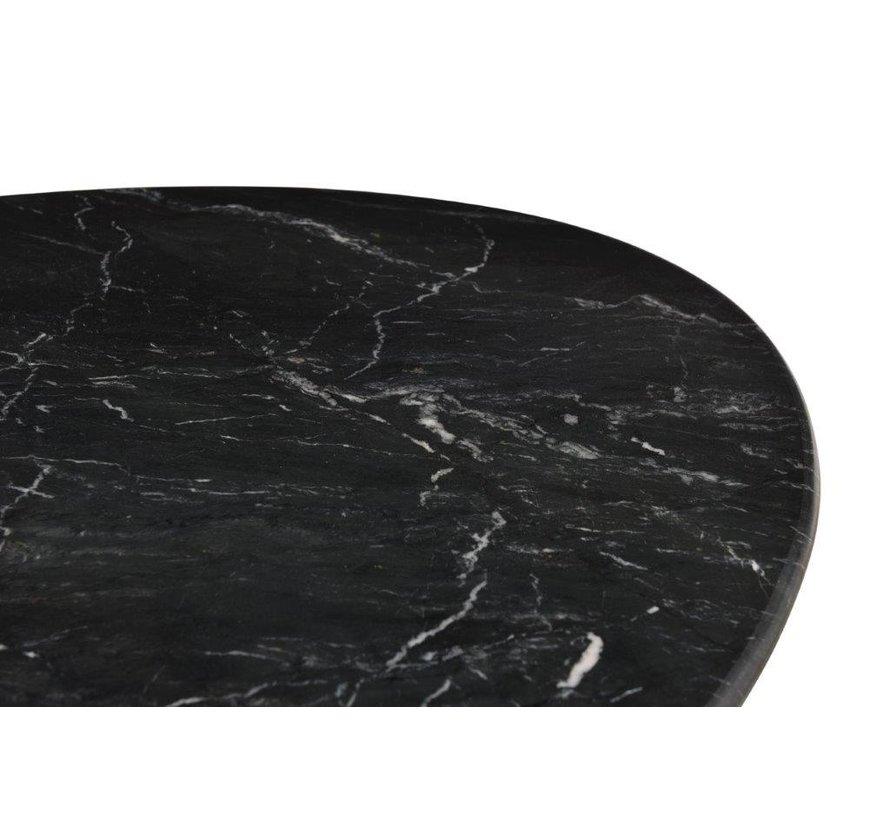 DT - Marble Oval Spider Black 180cm
