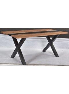Livingfurn DT - Epoxy Middle Black X 180cm