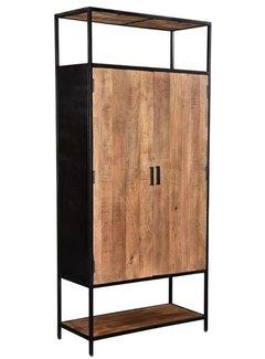 Livingfurn CAB - Sturdy 2 Doors 100cm