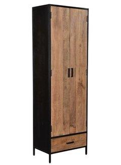 Livingfurn CAB - Sturdy 2 Doors 65cm