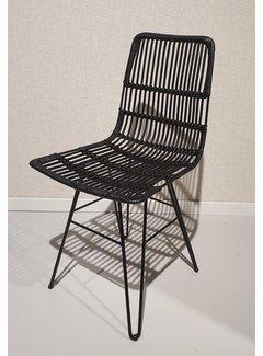 Livingfurn Chair - Christy Black