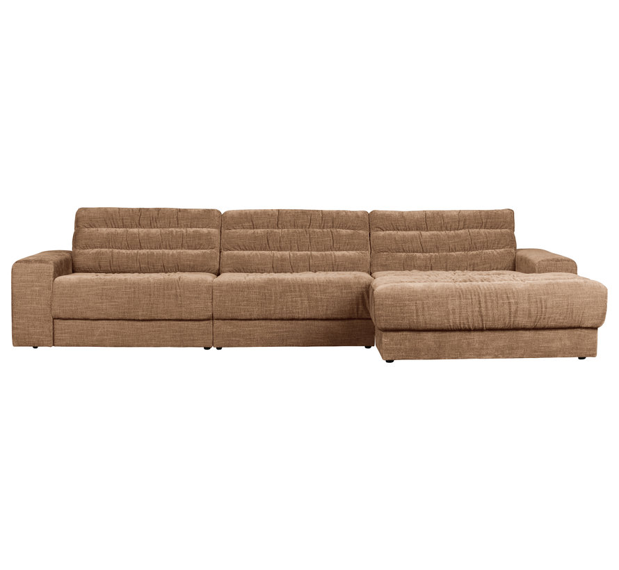 Date Chaise Longue Rechts Vintage Fluweel Syrup