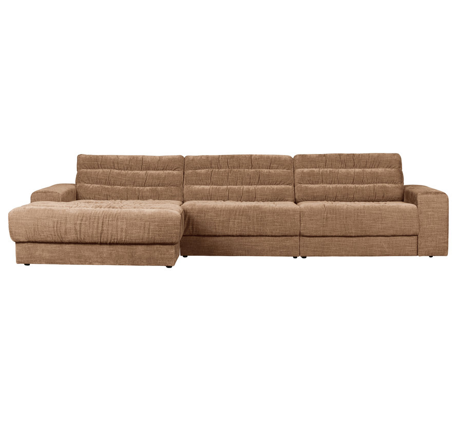 Date Chaise Longue Links Vintage Fluweel Syrup