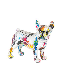 Richmond Interiors Dog graffity (White)
