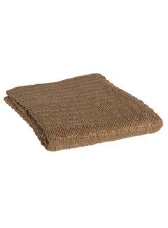 BePureHome Waving Gebreid Plaid Tea Leaves 130x170