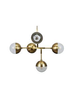 BePureHome Globular Hanglamp Metaal Antique Brass