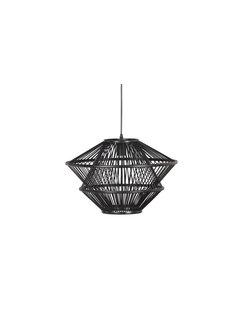BePureHome Bamboo Hanglamp Zwart