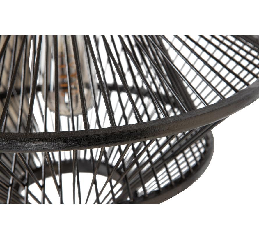 Bamboo Hanglamp Zwart