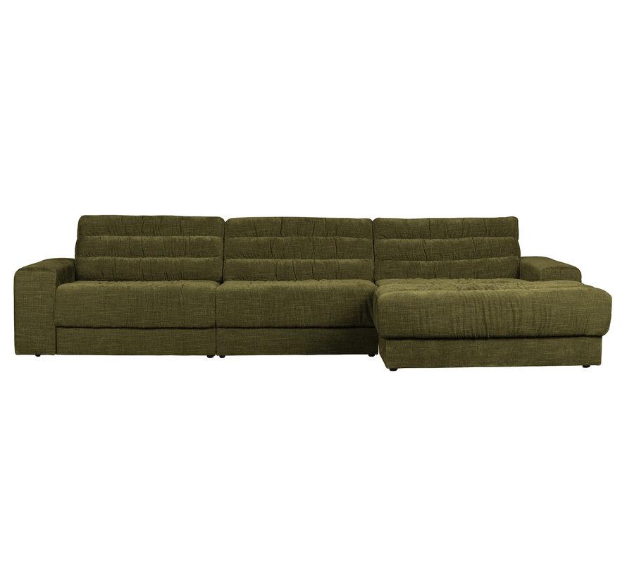 Date Chaise Longue Rechts Vintage Groen